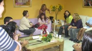 CON EL EQUIPO TV DE TERTULIA