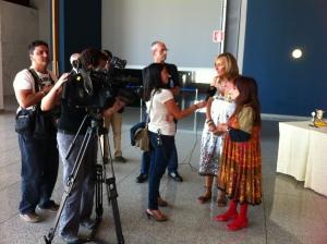 Marilyn con Antena 3 - 2012